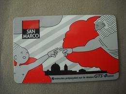 6995 Télécarte Collection Café SAN MARCO 2 Minutes    ( Recto Verso)  Carte Téléphonique - Alimentazioni