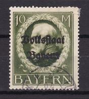 Bayern - 1919 - Michel Nr. 132 A - Gestempelt - 60 Euro - Bavaria