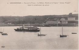 22 - LEZARDRIEUX - VUE SUR LE TRIEUX - LE VAPEUR LEONOR FRESNEL - Other Municipalities