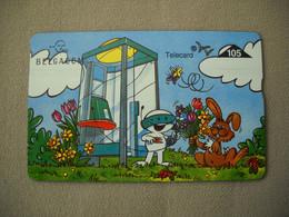 7011 Télécarte Collection CABINE TELECOM  Lapin Fleurs Papillon  ( Recto Verso)  Carte Téléphonique - Other