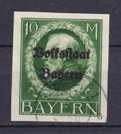 Bayern - 1920 - Michel Nr. 132 II B - Gestempelt - 100 Euro - Bavaria