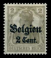 BES 1WK LP BELGIEN Nr 10 Ungebraucht X77B52E - Occupation 1914-18