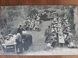 Ploermel.repas De Noces à La Campagne.coiffes Costumes Bretons.édition Bailly - Ploërmel