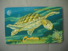 7015 Télécarte Collection TORTUE D' Eau Marine  ILES VIERGES BRITANNIQUE     ( Recto Verso)  Carte Téléphonique - Tartarughe