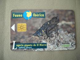 7023 Télécarte Collection LEZARD GEANT DE FER  Espagne ( Recto Verso)  Carte Téléphonique - Altri