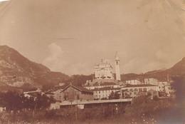 """2135 """"FOTO-ORSIERO (VI) PAESE E CHIESA I G.MONDIALE. """" MISURE(8.00x11.50) - Guerre, Militaire"""