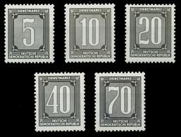 DDR DIENST VERWALTUNGSPOST-A ZKD Nr 1-5 Postfrisch X1D27C6 - Oficial