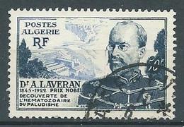 Algérie YT N°306 Docteur A. Laveran Oblitéré ° - Gebraucht