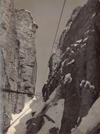 """2136 """"FOTO-PASUBIO VIAGGIO IN TELEFERICA MAGGIO 1917 """" MISURE(9.00x11.50) - Guerre, Militaire"""