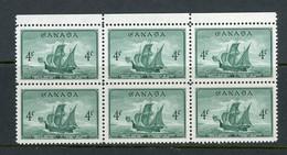 Canada MNH 1949 Cabot's Ship Matthew - Nuevos