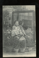 ± 1910   Young Chinese Lady In Shanghai (C4-82) - Brunei