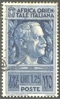 521 Africa Orientale Italiana 1938 Victor Emmanuel III (ITC-146) - Italian Eastern Africa