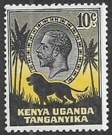KUT  1935  Sc#48  10c GEO V   MNH  2016 Scott Value $13 - Kenya, Uganda & Tanganyika