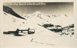 """CPA FRANCE 73 """"Peisey Nancroix, Les Bauches Et Le Mont Blanc"""" - Otros Municipios"""