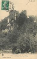 """CPA FRANCE 38 """"Vertrieu, Le Vieux Château"""" - Otros Municipios"""