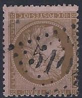 FRANCE BUREAU FRANCAIS ETRANGER BFE GC 5104 SHANGHAI CHINE - 1849-1876: Periodo Classico