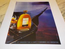 ANCIENNE PUBLICITE FINE DE  COGNAC HENNESSY 2003 - Alcools
