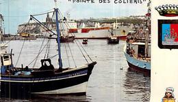 "Cpsm Dieppe Bateau "" Pointe Des Colibris "" 1969 La Seyne 1979 "" Callao "" "" Monte Go Bay "" - Commerce"