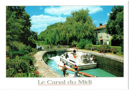 Le Languedoc Au Fil De L'eau - Le Canal Du Midi - Batellerie Péniche Bateau - Languedoc-Roussillon