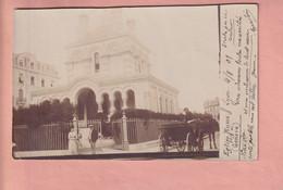 OUDE FOTO POSTKAART - ZWITSERLAND -  1901 - GENEVE EGLISE RUSSE - GE Genève