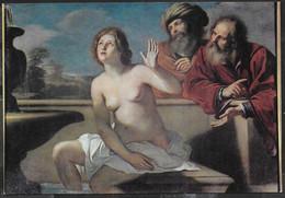GUERCINO - SUSANNA E I VECCHIONI - PARMA - GALLERIA NAZIONALE - NUOVA - Peintures & Tableaux