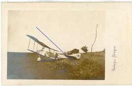 Allemande  Carte Photo - Kampfflieger Jagdflugzeug Jasta ? Guerre14-18 WWI 1.WK - 1914-18