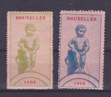 Bruxelles Manneke Pis 1905  Vignette - Unclassified