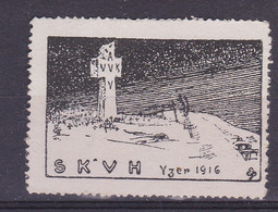Wereldoorlog I   Yzer 1916    Dessin Joe English  Vignette - Unclassified