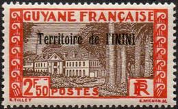 Inini N° 47 ** Hôtel Du Gouvernement à Cayenne - Ungebraucht