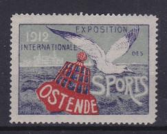 Ostende Exposition Des Sports  1912 Vignette - Unclassified