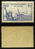 N° 426 2,25F EXPOSITION NEW YORK TB Neuf N** Cote 20€ - Non Classificati