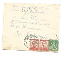 Poste Militaire Belge 3 Belg.Legerpost. 3    5.XII.14 Naar HEMIXEM En VIA  Roosendaal 10.XII.14 - Belgische Armee