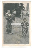 Old Red Star Line Shipping Company Postcard - Japanese Beggar, Kamakura, Japan - Paquebote