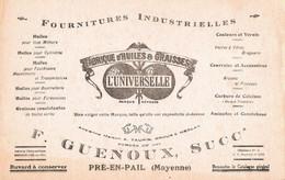 Lot De 3 Buvards Société GUENOUX PRE EN PAIL MAYENNE - Other