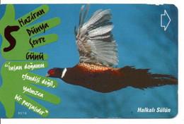 Oiseau Bird Télécarte Turquie Turc  Phonecard Telefonkarte (D 710) - Aquile & Rapaci Diurni