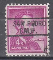 Locals USA Precancel Vorausentwertung Preo, Locals California, San Pedro 812 - Precancels