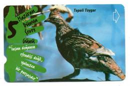 Oiseau Bird Télécarte Turquie Turc  Phonecard Telefonkarte (D 711) - Aquile & Rapaci Diurni