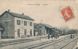 LIFFOL LE GRAND - LA GARE (CHEMIN DE FER) - Liffol Le Grand