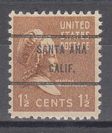 Locals USA Precancel Vorausentwertung Preo, Bureau California, Santa Ana 805-71 - Precancels
