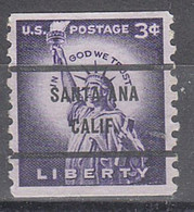 Locals USA Precancel Vorausentwertung Preo, Bureau California, Santa Ana 1057-71 - Precancels