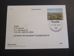NETHERLANDS MAGASIN CARD.  0435 - Isla De Man