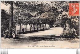 RUFFEC JARDIN PUBLIC LES ALLEES 1910 TBE - Ruffec