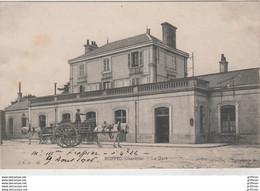RUFFEC LA GARE 1906 TBE - Ruffec