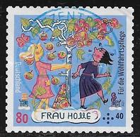 2021  Wohlfahrtsmarke 80+40 Cent (Selbstklebend) - Used Stamps