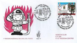 Fdc Venetia 2010: RADUNO VIGILI DEL FUOCO; No Viaggiata; AS - F.D.C.