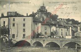 63.  CHAMPEIX .  Le Pont Sur La Couze Et Le Marchidial . - Other Municipalities