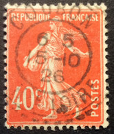 194 ° 1 Haute Loire Coubon Semeuse 40c Vermillon 15/10/1926 - 1921-1960: Periodo Moderno