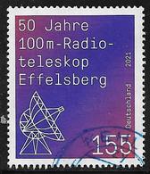 2021  50 Jahre  100m-Radioteleskop Effelsberg - Gebraucht