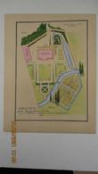 PLANS De JARDINS De J. C. MOREUX, Architecte En Chef Du Gouvernement / 1949-1950 ( Reproductions Extraites De ?...revue) - Architecture