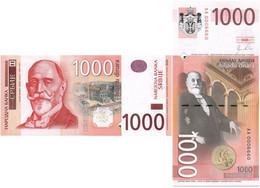 SERBIA 1000 DINARA 2011 P 60a - UNC - Serbia